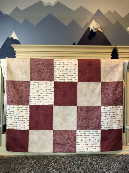 Arrows Patchwork Quilt