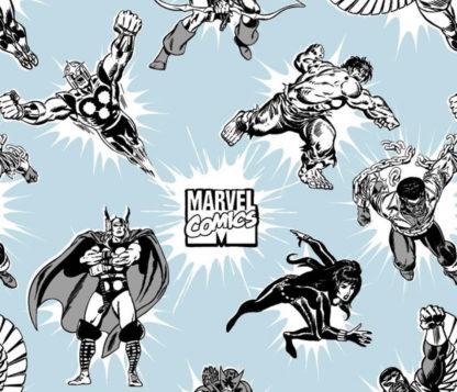 Marvel Face Mask Fabric