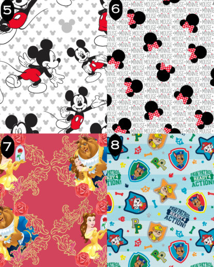 Kids Face Mask Fabrics