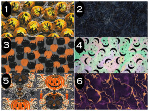 Halloween Face Mask Fabrics