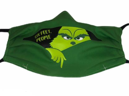 Grinch 6 Feet People Face Mask