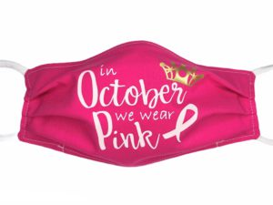 Breast Cancer Face Mask