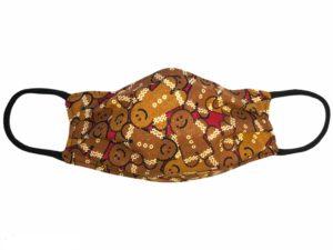 Gingerbread Man Face Mask