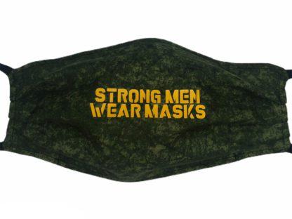 Strong Men Wear Masks Face Mask